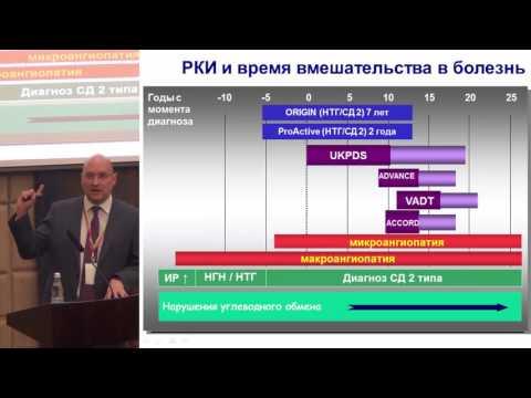 Секционное заседание 2. Зилов А.В., «Современные тенденции фармакотерапии сахарного диабета 2 типа».