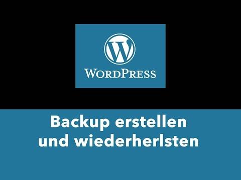 WordPress Backup erstellen kostenloses PlugIn – Duplicator