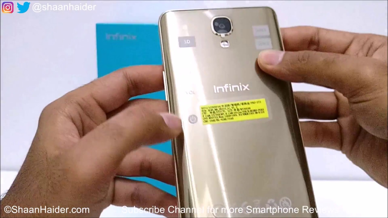 Infinix Note 4 X572 Unboxing And First Impressions
