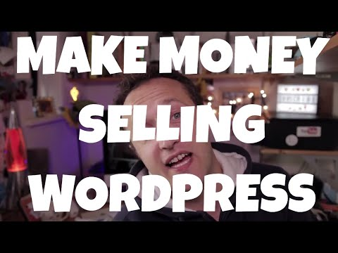MAKE MONEY Selling WordPress Websites - Be a Web Designer
