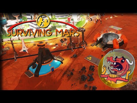 Martian Mines – Surviving Mars Gameplay – Let's Play Part 10