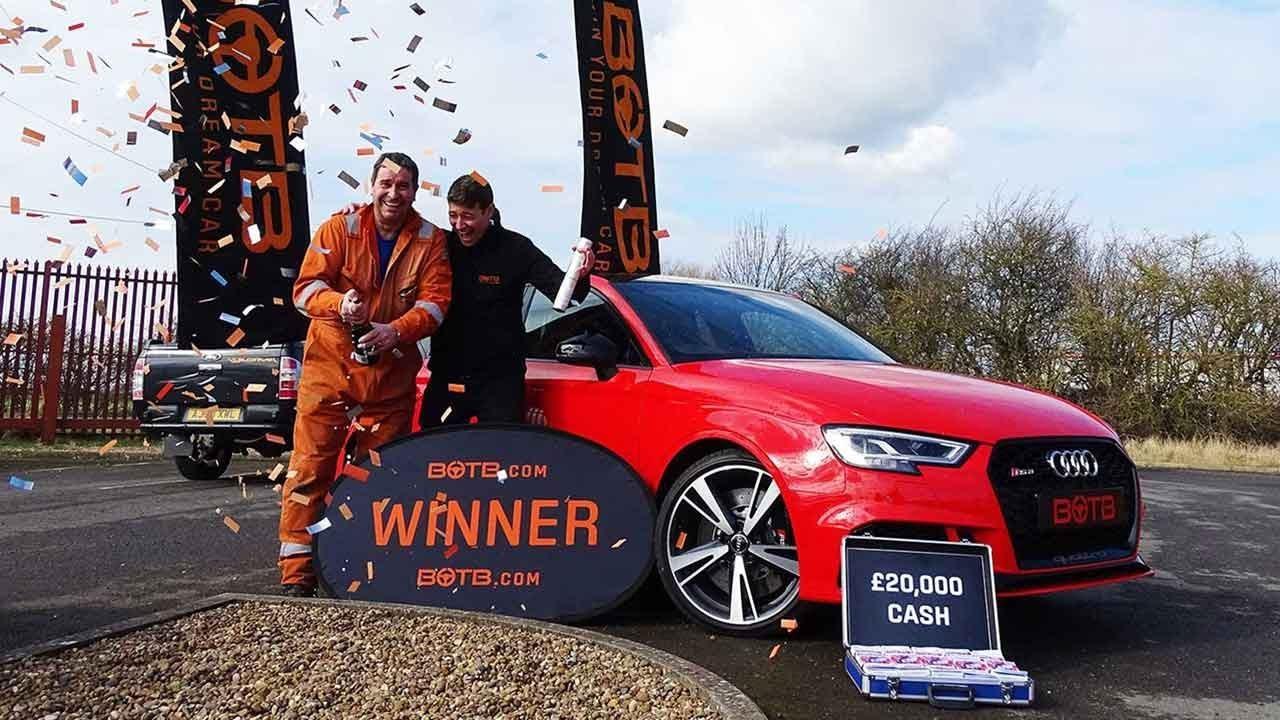Winner Week Ken Harper Audi RS Saloon Cash - Harper audi