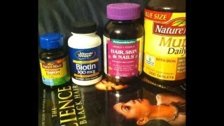 Lets Talk... Hair Vitamins, for Growth!!