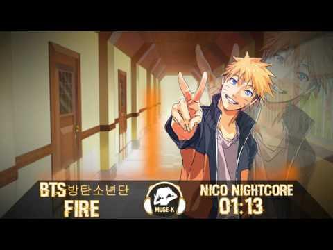 Nightcore - Fire | BTS (방탄소년단)