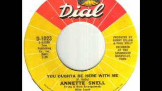 Annette Snell - You Oughta Be Here With Me.wmv