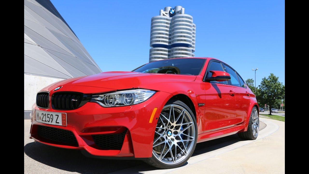 2016 Bmw M3 Melbourne Red Competition Package Aces
