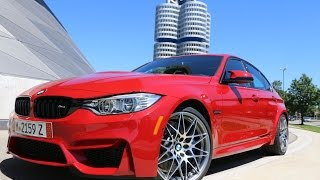 2016 BMW M3 Melbourne Red Competition Package Aces Nurburgring