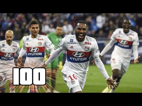 DERNIER MATCH D'ALEXANDRE LACAZETTE À LYON - SON 100e BUT EN LIGUE 1