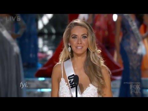 Olivia Jordan Miss USA  Miss Universe 2015 Highlights