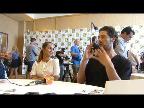 SDCC 2017: The Magicans  Hale Appleman & Summer Bishil
