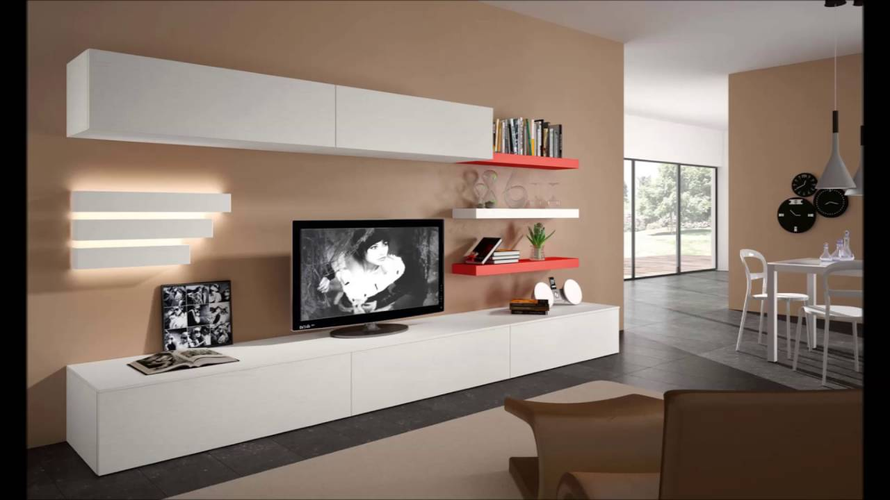 Modern tv units italian furniture modern wall units modern
