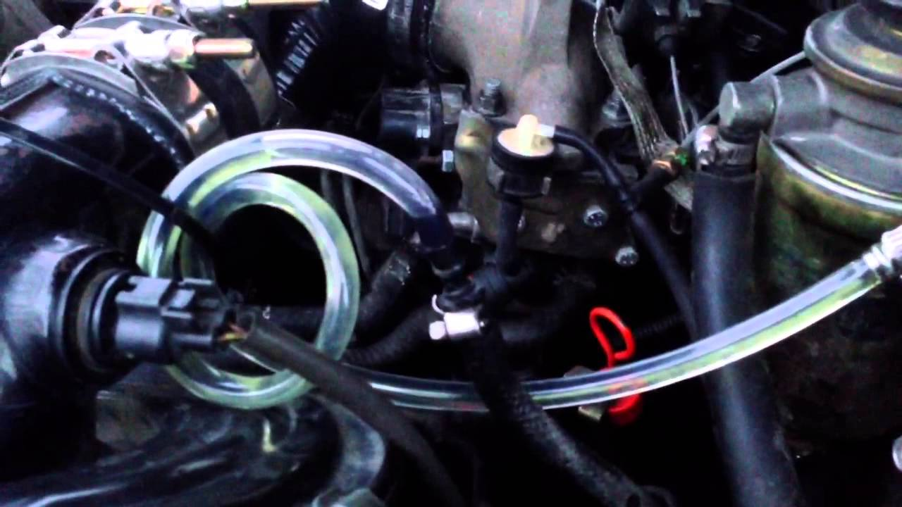 2lte air in fuel line