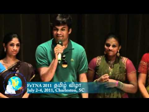 Tamil American Youth in FeTNA Conference - An excellent perspective about learning Tamil