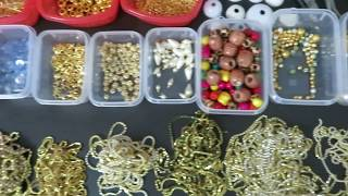 Basic Idea of Silk Thread Jewellery Making Materials
