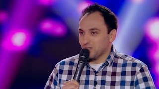 """Cristi Priză, la iUmor: """"Credeam că mozzarella e o pasăre, nu aveam TV"""""""