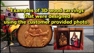 Yes! It Is Possible To Design Custom 3d Carvings From A 2d Photo