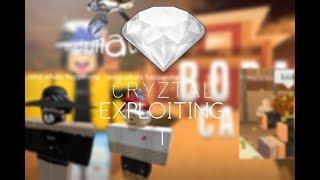 ROBLOX Cryztal Exploiting 1 - Becoming Genji at Boba Cafe