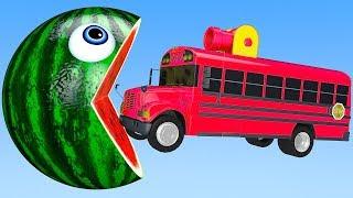 Le Pompier jouets - Camion de pompier jouets - Véhicules jouets pour enfant Pacman river balls #05
