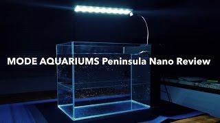 NEW!!! Mode Aquariums 9G Peninsula Aquarium | Unboxing & Review