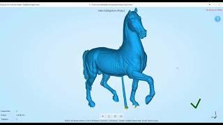 Torrie horse 3D scanning in the uCreate Studio