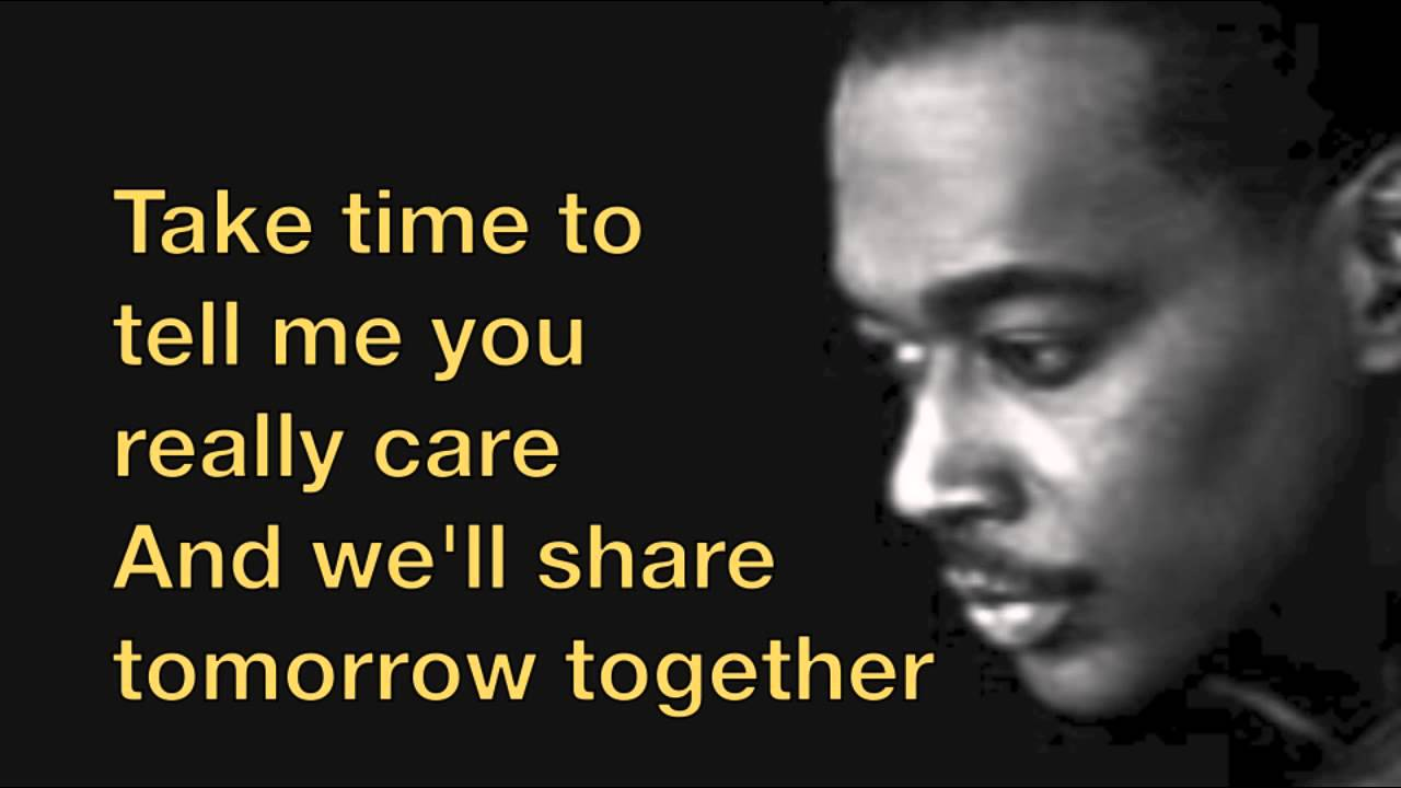 Luther Vandross Always And Forever Lyrics Youtube