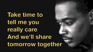 "Luther Vandross ""Always and Forever"" Lyrics"