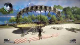Just Cause 2 Xbox 360 Gameplay