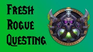 World of Warcraft: Fresh Rogue for New Leveling System [STREAM REPLAY]