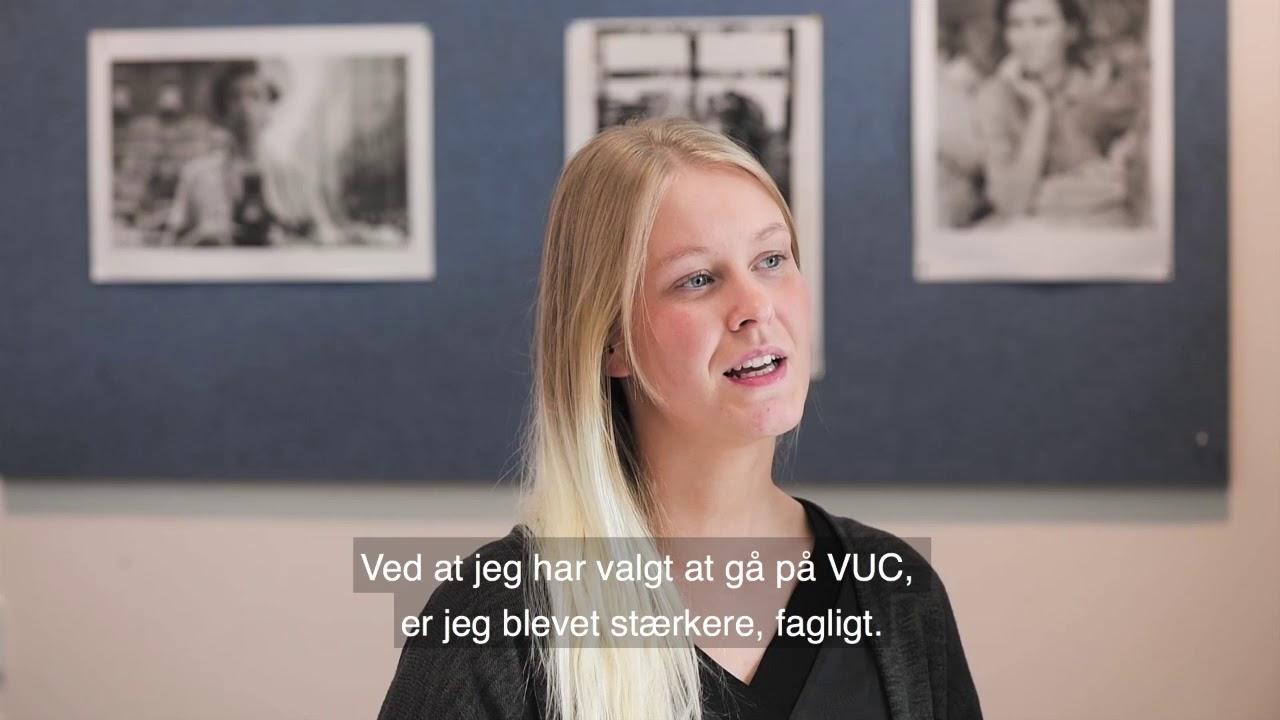 Freja om HF på VUC Roskilde