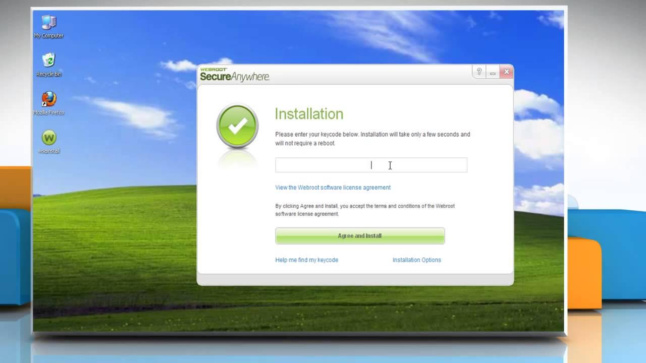 Webroot windows xp