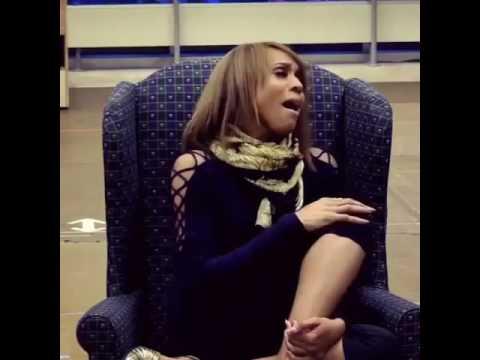 Singer Deborah Cox sings Whitney Houston's  run to you