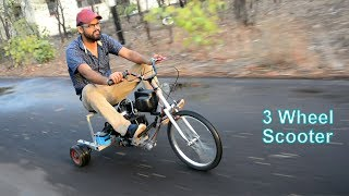 How to Make Three wheel Scooter in Hindi