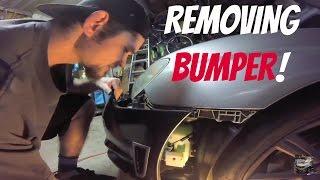 Front Lip Install - Removing Bumper - Part One - Subaru WRX