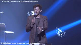 Darshan Raval Best Performance Kabira Song YouTube Fan Fest 2016
