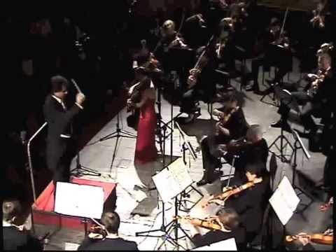 DVORAK: Violin Concerto  Rico Saccani, conductor Livia Sohn, violin