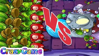 Plants vs Zombies Hack Giant Plants vs Dr. Zomboss | PopCap Games