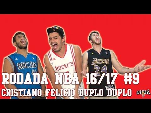 Rodada NBA 16/17 #9 - Cristiano Felicio Duplo Duplo