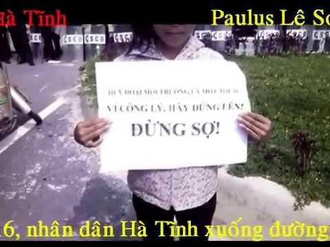 Nhân dân Hà Tĩnh quyết tâm buộc Formosa rời khỏi Việt Nam