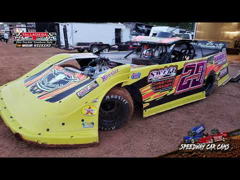 #29 Christian Hanger - Super Late Model - 4-27-19 Talladega Short Track - In Car Camera