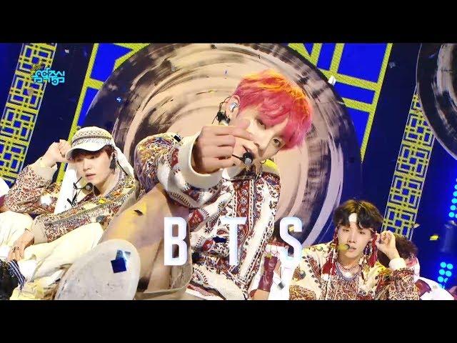 【TVPP】BTS - IDOL, 방탄소년단 – 아이돌 @Showmusiccore 2018