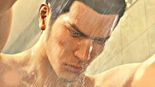 Kiryu Kazuma singing Baka Mitai in the shower