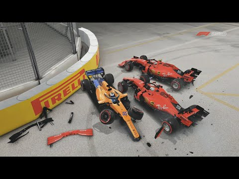 I'm A Professional Rammer - F1 2019 Online