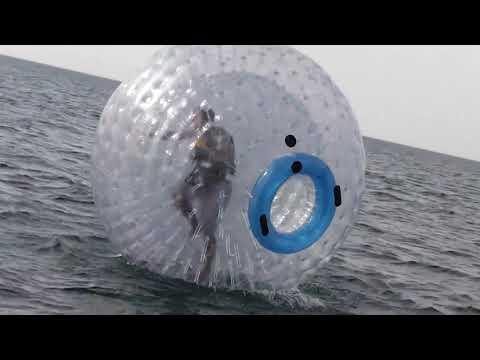 Zorb rental - Zorbing on water