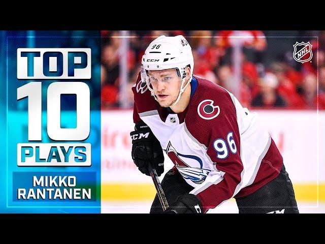 Top 10 Mikko Rantanen plays from 2018-19
