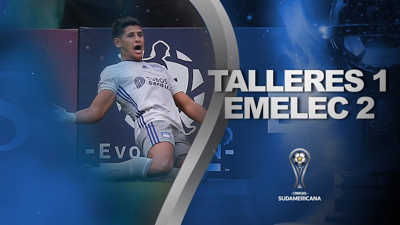 Copa Sudamericana: Emelec lo dio vuelta y amargó el debut de Talleres