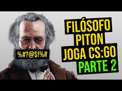 FILÓSOFO PITON JOGA CS:GO [PARTE 2]