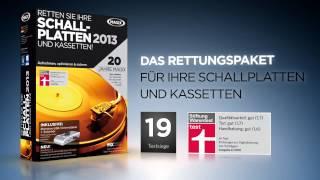 MAGIX Retten Sie Ihre Schallplatten & Kassetten! 2013 (DE) - Schallplatten digitalisieren