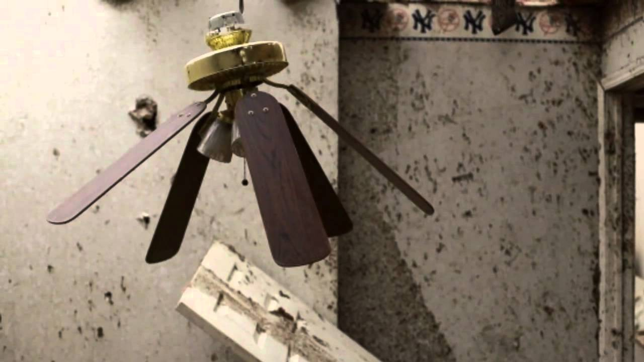 Abused ceiling fan commercial youtube aloadofball Images
