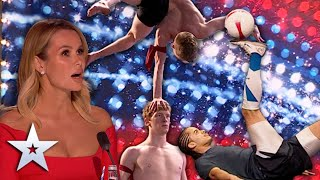 GREAT Sporting Moments! | Auditions | Britain's Got Talent