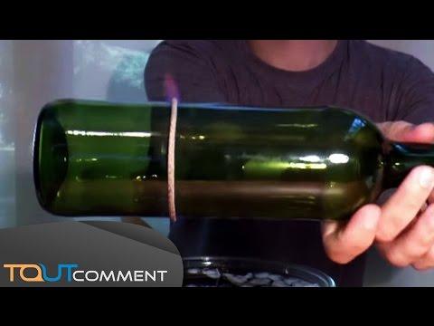 Couper une bouteille en verre facilement